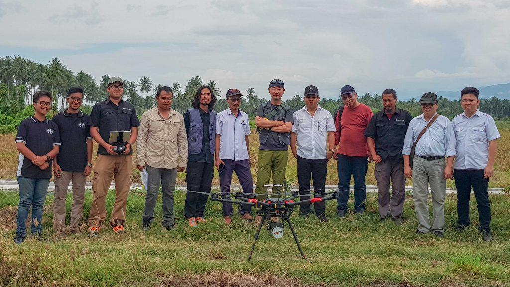 Drone kebencanaan Terra Drone Indonesia