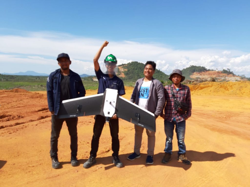 Drone fixed wing Terra Drone Indonesia