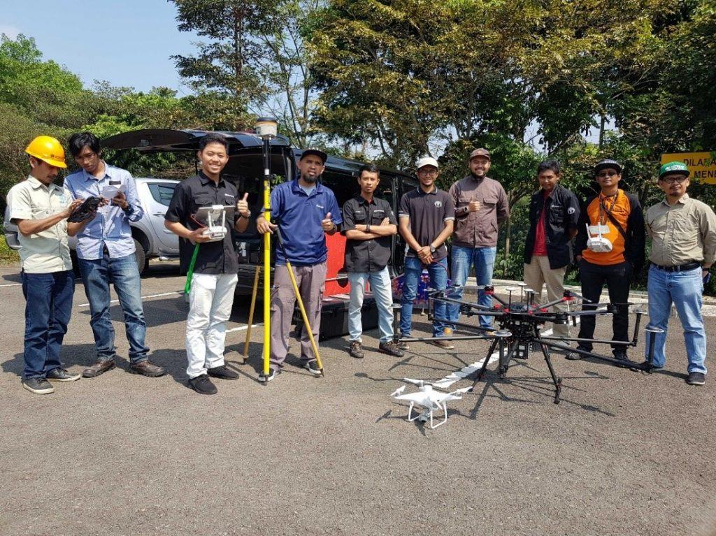 ITB Geospasial Terra Drone Indonesia