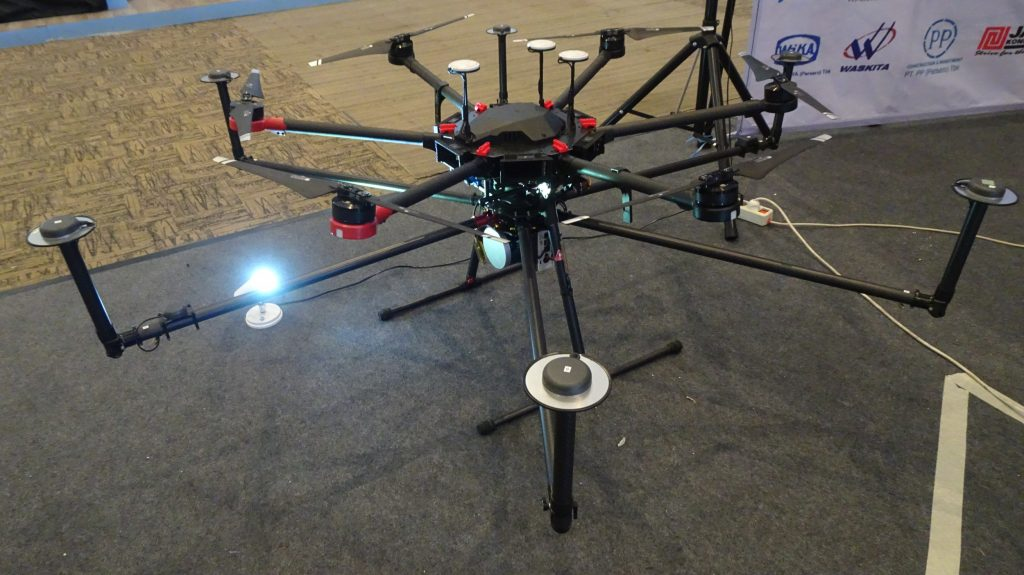 LIDAR Terra Drone Indonesia