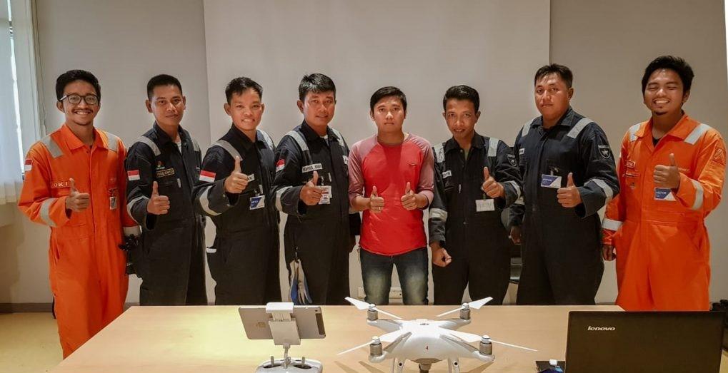 Pelatihan drone