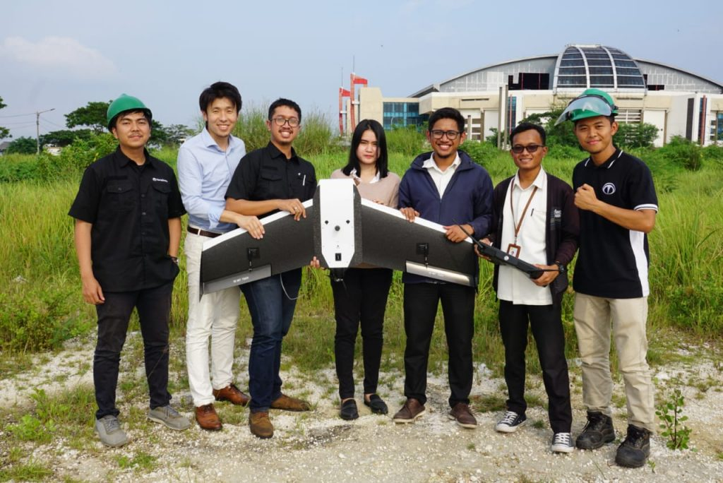 Drone PLN Terra Drone Indonesia
