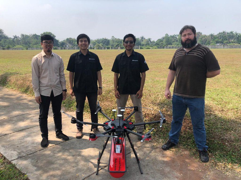 Drone GPR - Terra Drone Indonesia