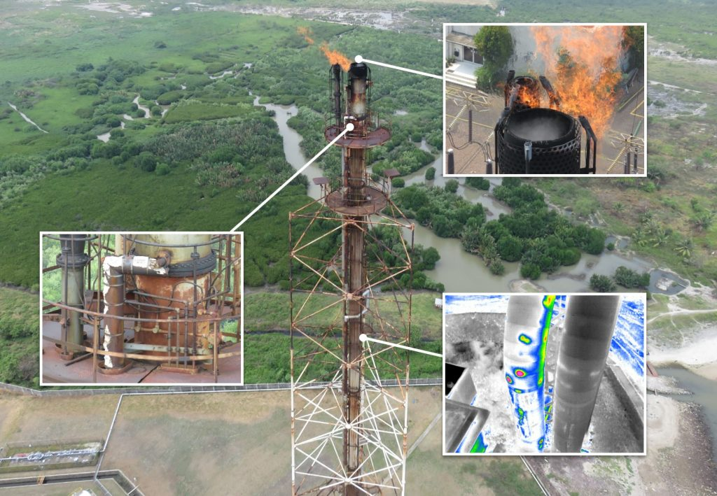 O&G Flare Stack