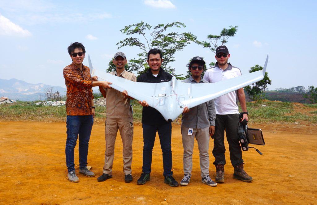 Drone migas_Medco Energi_Terra Drone Indonesia
