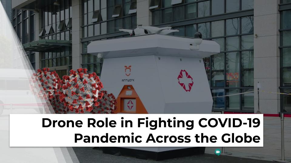 Drone di masa pandemi virus corona - Terra Drone Indonesia