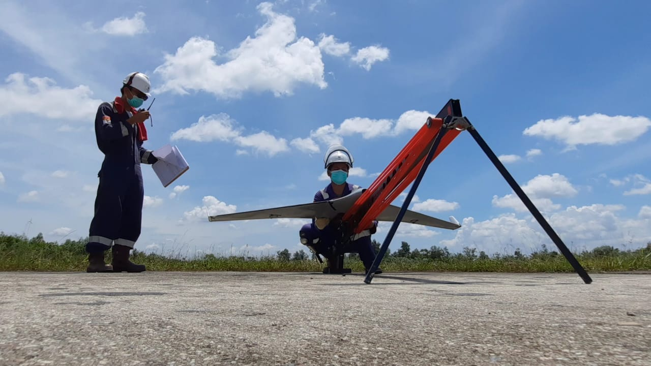 Pemeliharaan jaringan listrik PLN - Terra Drone Indonesia