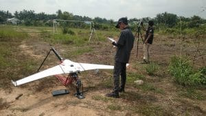 Drone untuk kelapa sawit