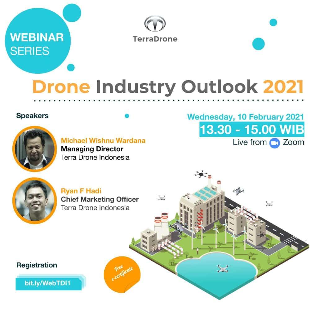 Webinar Terra Drone Indonesa: Drone Industry Outlook 2021