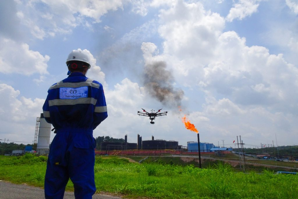 Drone untuk mgas - Terra Drone Indonesia