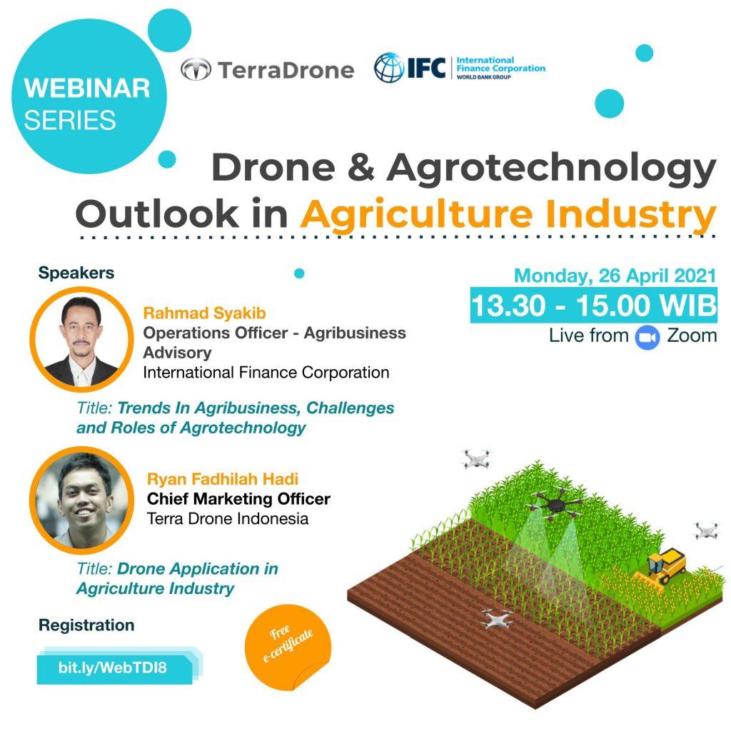 Webinar Terra Drone Indonesia - Agriculture