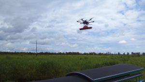 Survey lahan gambut pakai drone