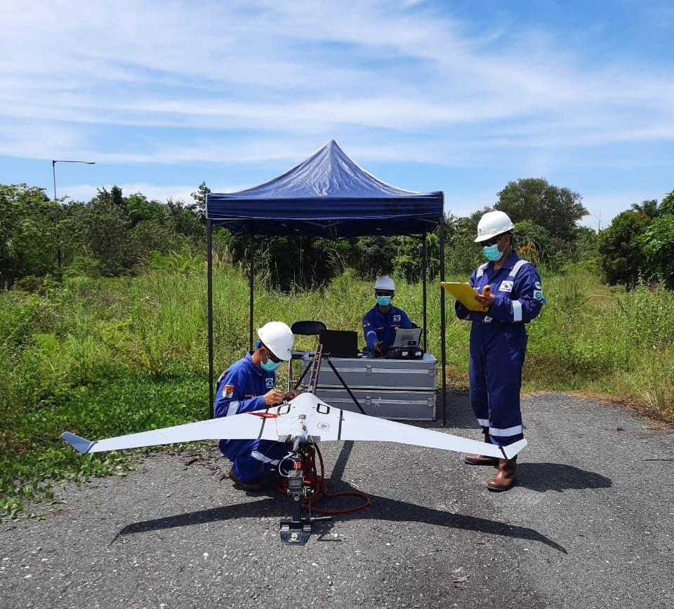 Drone membantu atasi pencurian minyak mentah