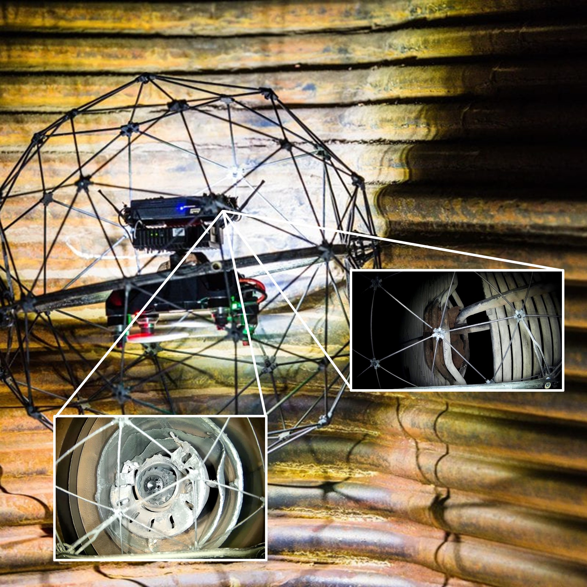 Terra Drone - Confined Space Inspection