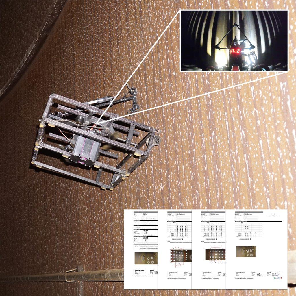 Terra Drone - UT Inspection