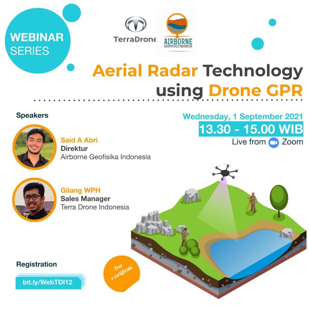 Webinar Drone - Indonesia